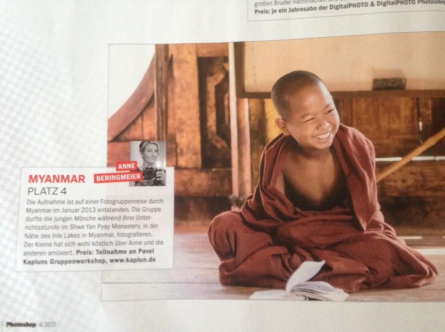Der kleine Mönch. Shwe Yan Pyay Monastery / Inle Lake / Myanmar