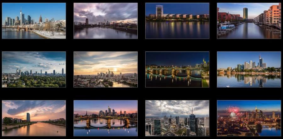 Limitierter wunderschöner Frankfurt Kalender von der Fototante.de