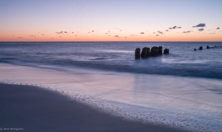 Sonnenuntergang / Rotes Kliff / Buhnen